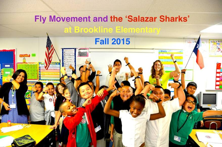 fly movement at brookline elementary
